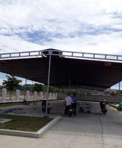 Báo Giá Lắp Đặt Mái Hiên Di Động, Làm Mái Bạt Xếp Lượn Sóng Giá Rẻ Tại Bình Dương