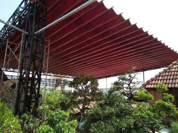 Bán bạt mái xếp, may bạt che nắng mưa theo yêu cầu giá rẻ tại đồng nai
